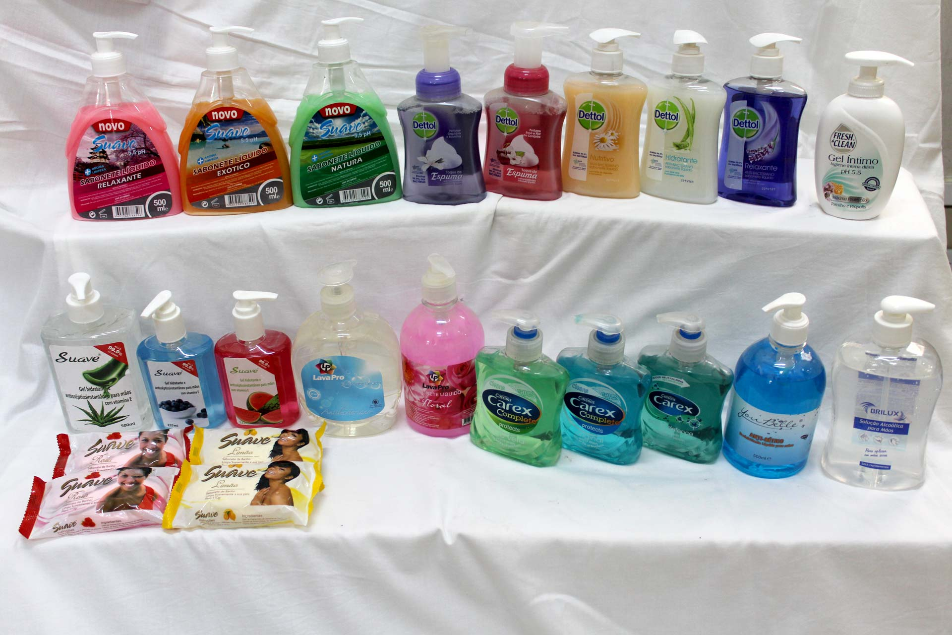 Various Personal Hygiene Products from Suave, Dettol, Fresh & Clean, LavaPro, Carex and You Belle